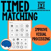 Improve Visual Discrimination & Processing --  Matching Cut & Paste