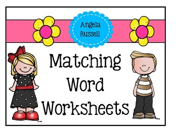 Matching Word Worksheets