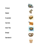 Matching Words to Pictures for Common Foods