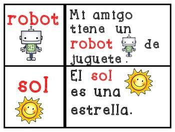 Matching Words to Sentences (Spanish) Uniendo palabras con aquellas en oraciones