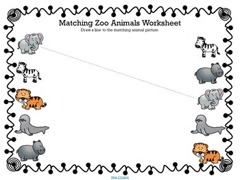 Zoo Animal Worksheets | Teachers Pay Teachers