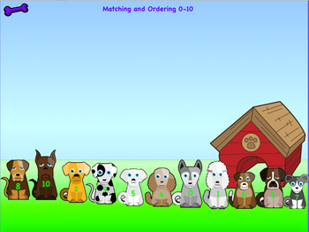 Matching and Ordering Numbers 0-10