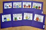 Matching and Sorting File Folder Games:  Monster Theme