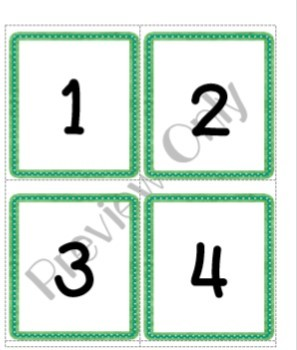 Matching and Writing Numbers 0-20 MACC.K.CC.3