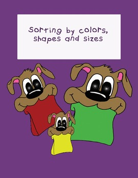 Matching by color, shape and size