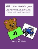 Matching phonics sounds for B, D, J, K, and T