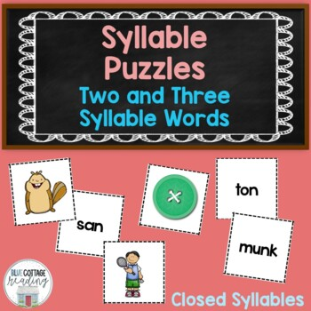 Matching  Closed Syllables and Pictures