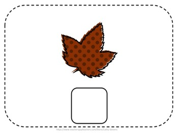 Free! Matching the Leaves - An Interactive and Adaptive Matching Activity - FREE