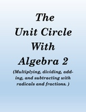 Matching trig equations with answers using unit circle (easy)