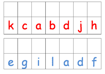 Matching uppercase with lowercase letters