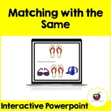 Matching with the Same (Interactive PowerPoint) - Distance