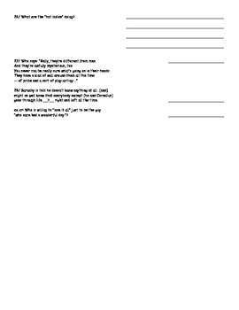 Matchmaker Test #3 Act 2