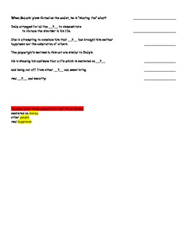 Matchmaker Test #4 Act 3