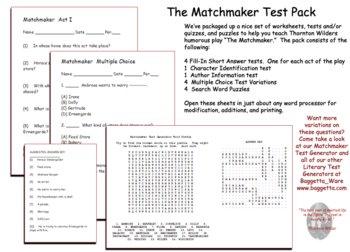 Matchmaker Test Pack