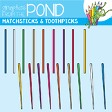 Matchsticks and Toothpicks - Graphics for Teaching