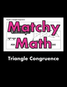 Matchy Math:  Triangle Congruence Game