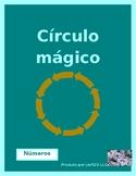 Matemática (Math in Portuguese) Círculo mágico