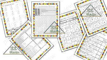 Math Review Worksheets (Spanish)