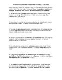 Matemáticas con Material Escolar - Math Problems with Scho