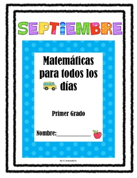 Daily Math Spanish/ Septiembre