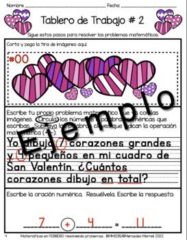 Matemáticas en Febrero:  Resolviendo Problemas en Cuentos Primer Grado