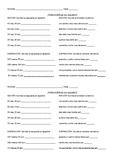 Matemáticas en español Math Worksheet