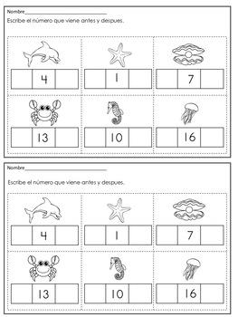 Matemáticas para Kindergarten y Primer Grado/Math for Kindergarten & First Grade