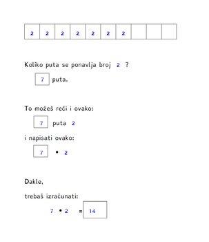Matematika 1-4.r. OŠ (HR) - diskalkulija i disleksija
