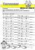 Matematikk:  Tiervenner i addisjon med 2-sifrete tall