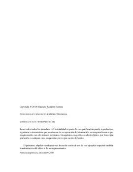 Matemática de Sétimo Versión 2015