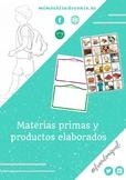 Materia prima y productos elaborados