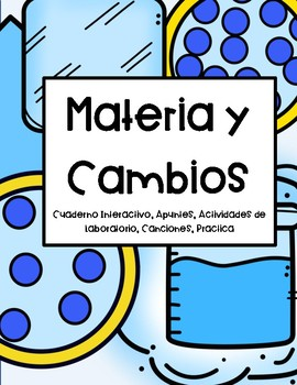 Materia y Cambios (Spanish Notebook Matter and Change) Apuntes, Experimento
