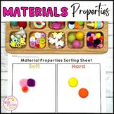 Properties of Materials Sorting Activity