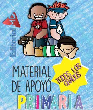Material de Apoyo para Primaria (Los 6 Grados)