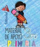 Material de Apoyo para 3° de Primaria -- Support Material for 3rd of Primary