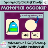 Material escolar ~ Spanish School Object Vocabulary BOOM T