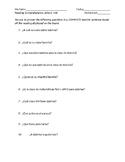 Materiales Escolares- Reading Comprehension