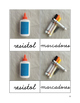 Materiales Escolares (cursive)