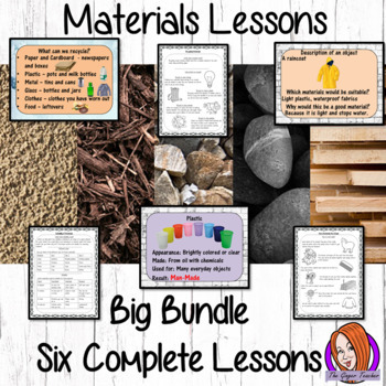 Materials Big Lesson Bundle – Primary Science