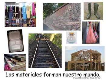 Materials Books in Spanish and English - Where does it come from?