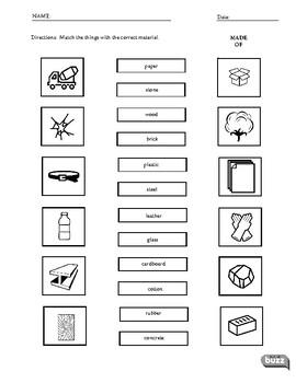Materials - ESL / EFL Vocabulary Worksheets