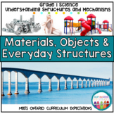 Materials Objects and Everyday Structures Grade 1 Science Unit