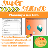 Scientific Method- Planning a Fair Test