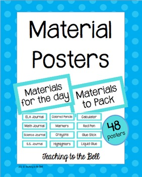 Materials Posters