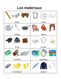 Materials, Properties and Structures worksheets (French)