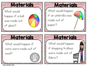 Materials Science Task Cards