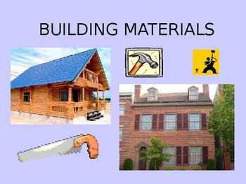 Materials Year one