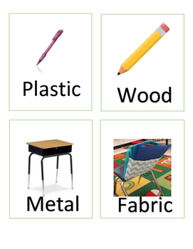 Materials and Objects Write the Room