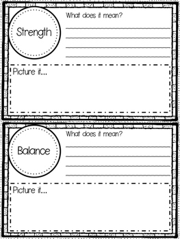 Materials and Structures - Personal Word Wall