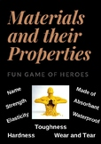 Materials and their Properties - Superheroes Game